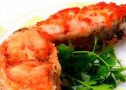 рецепт Красная рыба в ржаных сухарях