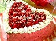 рецепт Бисквитный торт с суфле