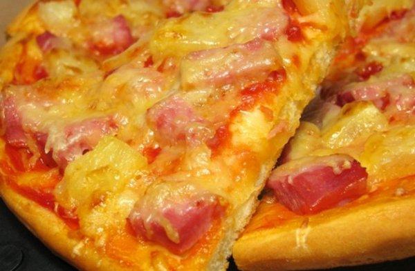 гавайская пицца пошаговый рецепт с фото