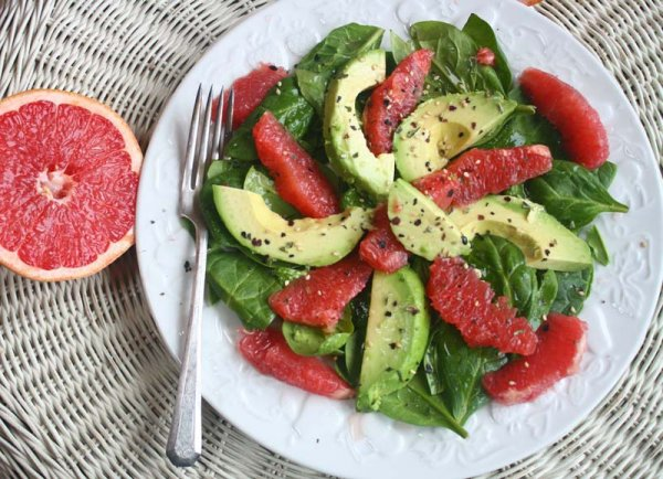 салаты с грейпфрутом с фото