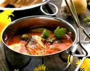 рецепт Суп из рыбных консервов