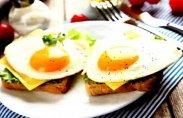 рецепт Бутерброды с яйцом и сыром