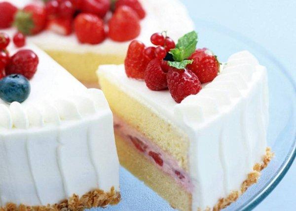 видео йогуртовый торт рецепт