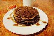 рецепт Самые вкусные шоколадные панкейки