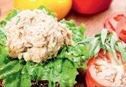 рецепт Бутерброд с тунцом