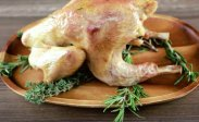 рецепт Курица цесарка по-итальянски на гриле в мини печи
