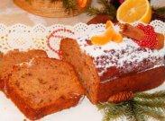 рецепт Кекс с бананом, медом и орехами
