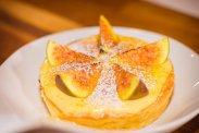 рецепт Тарт с карамелизированным инжиром и крем-брюле