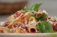 рецепт Запеченные макароны с мясными шариками