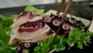 рецепт Сашими из осьминога