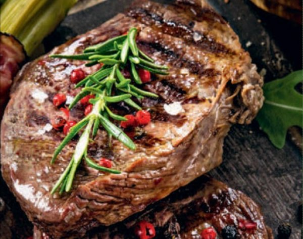 Стейк из говядины на сковороде рецепт с пошаговым фото