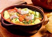 рецепт Суп из индейки с яйцом