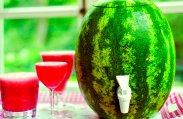 рецепт Алкогольный арбузный коктейль