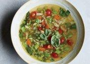 рецепт Овощной суп с фреголой от Джейми Оливера