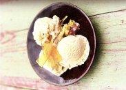 рецепт Мороженое с соленой карамелью