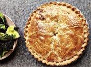 рецепт Пирог с курицей и грибами от Джейми Оливера