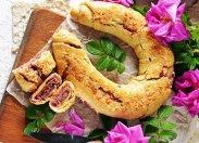 рецепт Пивной завиванец с розой