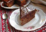 рецепт Яблочный пирог с шоколадом