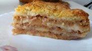рецепт Яблочный пирог за 5 минут