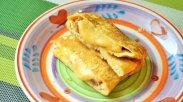 рецепт Быстрый завтрак для ребенка из яиц и сыра
