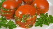 рецепт Закуска из маринованных помидоров