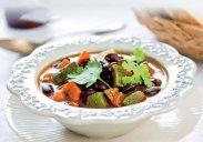 рецепт Суп с фасолью