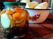 рецепт Домашние маринованные кабачки