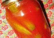 рецепт Огурцы в томатном соке