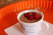 рецепт Шоколадно-малиновый десерт