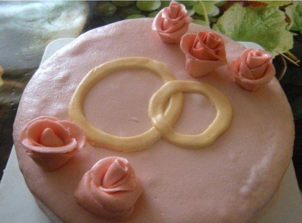 Бисквитный торт с мастикой рецепт с фото