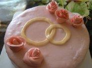 рецепт Бисквитный торт с мастикой