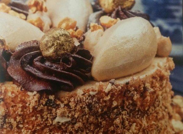 Шоколадный бисквитный торт от Эктор Хименес Браво рецепт с фото