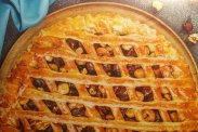 Открытый пирог с орехами от Эктора Хименеса Браво