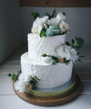 рецепт Топ-5 уникальных свадебных тортов от фудблогера Насти Ганджи из Тернополя
