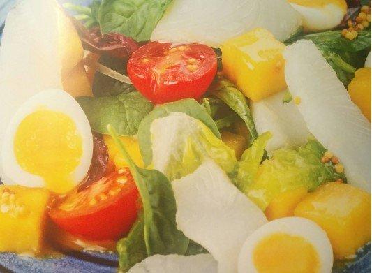Салат с рыбой от Эктора рецепт с фото