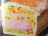 рецепт Пирог с лососем и рисом от Эктора