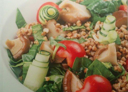 Салат табуле с гречкой от Эктора рецепт с фото