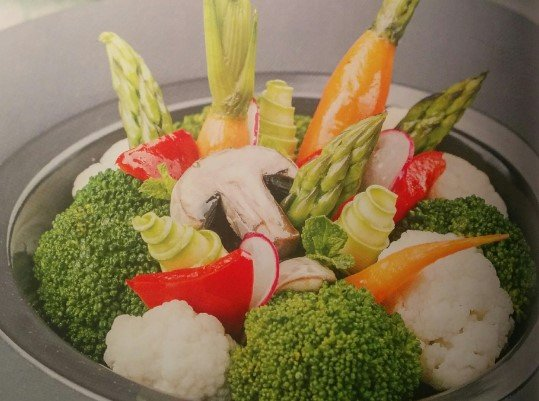 Паровые овощи с соусом от Эктора рецепт с фото