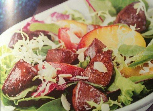 Салат с печенью кролика от Эктора рецепт с фото