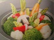 рецепт Паровые овощи с соусом от Эктора