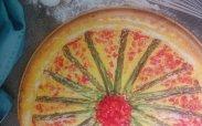 Открытый пирог с болгарским перцем от Эктора