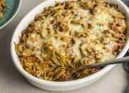 рецепт Запеканка макароны с фаршем в духовке