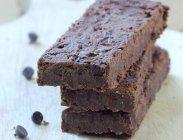 рецепт Шоколадные протеиновые батончики из фасоли