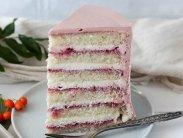 рецепт Торт клубничный йогурт