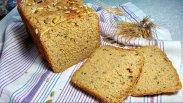 рецепт Домашний хлеб с семенами льна