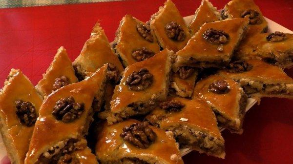 Пахлава - восточные сладости для банкетов рецепт с фото