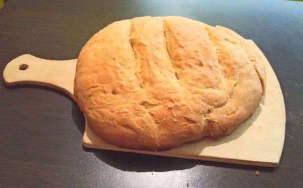 Как приготовить домашний хлеб в духовке рецепт с фото