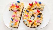 рецепт Медовые торт цифра с крем чиз