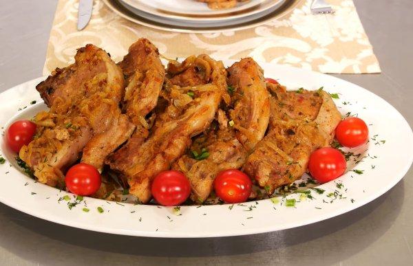 Корейка свиная в духовке в фольге рецепт с фото